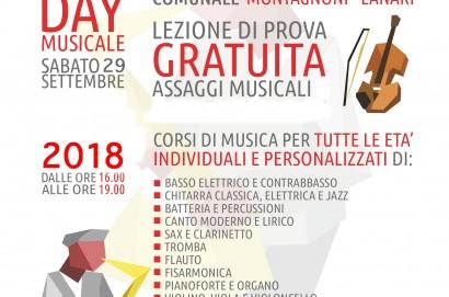 Inizio lezioni della Scuola di Musica Comunale di Cortona - Open Day il 29 settembre