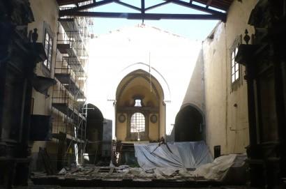 Al via il restauro del tetto della Chiesa castiglionese di San Paolo Eremita in Sant'Agostino