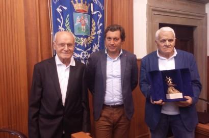 Attesa per l'arrivo a Castiglion Fiorentino di Leonardo Pieraccioni per il Premio San Michele d'Oro