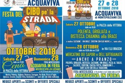 """Ad Acquaviva nuova edizione della """"Festa del Cibo pe' la Strada"""""""