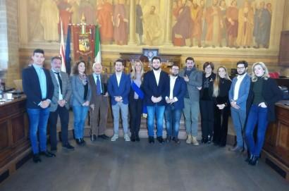 Primo Consiglio Provinciale: cerimonia di giuramento della Presidente della Provincia di Arezzo Silvia Chiassai Martini
