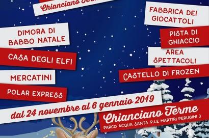 """Inaugurazione del """"Paese di Babbo Natale"""" a Chianciano Terme"""