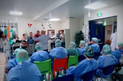 Silvestrini: tradizionale concerto di Natale per i malati onco-ematologici.