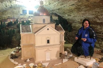 Ad Abbadia di Montepulciano il Presepe che ricorda i 500 anni di San Biagio