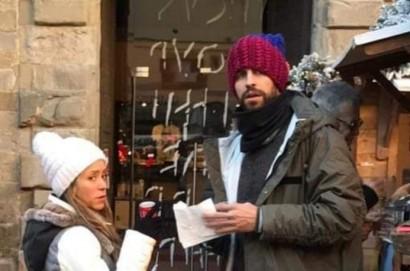 Shakira e Gerard Piqué a Cortona per una passeggiata di piacere