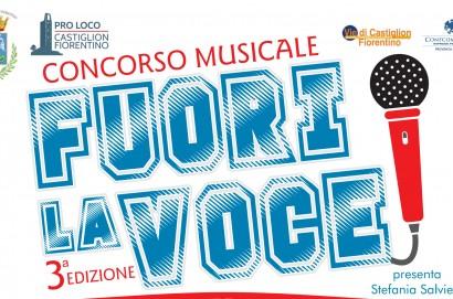 """""""Fuori la Voce"""", sabato 2 febbraio al Teatro Spina di Castiglion Fiorentino"""