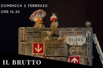"""Il """"Brutto Anatroccolo"""" Domenica 3 febbraio al Mario Spina di Castiglion Fiorentino"""