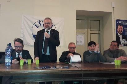 L'Onorevole Borghi della Lega lancia la volata alla candidatura di Luciano Meoni a Cortona