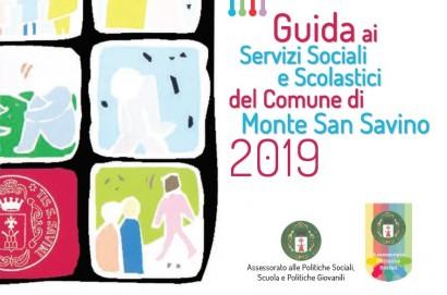 Monte San Savino: in distribuzione la nuova guida ai servizi sociali e scolastici del Comune