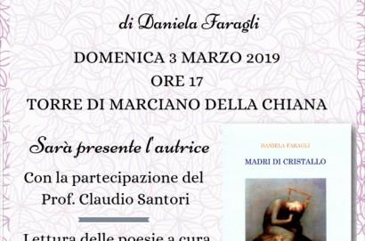 """Presentazione del libro """"Madri di cristallo"""" di Daniela Faragli"""