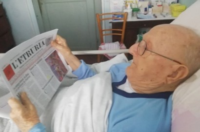 Il novantaseienne don Ferruccio Lucarini é tornato a casa dopo un drammatico ricovero ospedaliero!