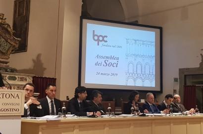 Banca Popolare di Cortona SCpA - Approvato dall'Assemblea il Bilancio dell'esercizio 2018