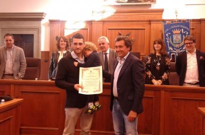 Conferita a Orlando Fiordigiglio la cittadinanza onoraria di Castiglion Fiorentino