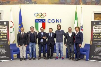 """Svelati i nomi dei premiati del  """"Gran Galà dello Sport"""" Città di Castiglion Fiorentino"""