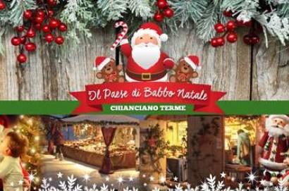 """A Chianciano Terme arriva """"Il Paese di Babbo Natale"""""""
