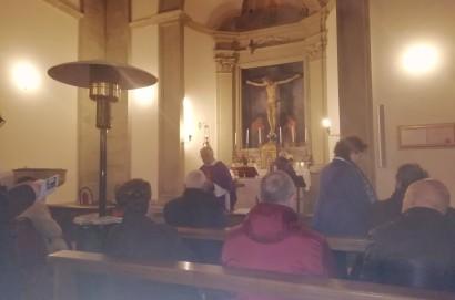 Tradizionale Via Crucis al Santuario del Calcinaio