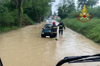 Bomba d'acqua a Cortona- numerosi disagi e strade chiuse