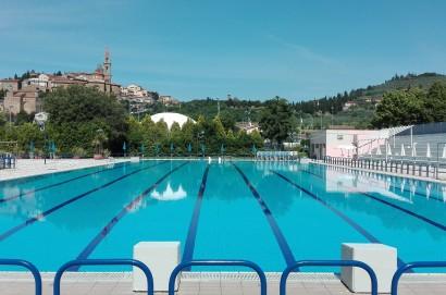 Sabato 8 giugno riprende l'attività della piscina comunale di Castiglion Fiorentino