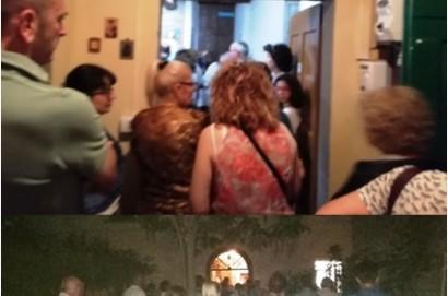 Oltre un centinaio di fedeli al Rosario per don Ferruccio