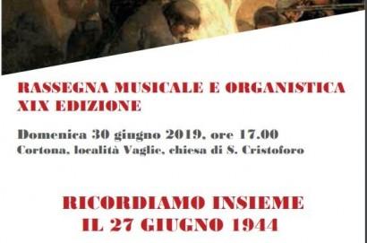 Commemorazione dell'Eccidio di Falzano a Cortona