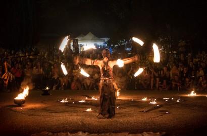 Festival di arti di strada l'Incantaborgo a Sinalunga