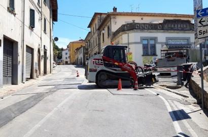 Nuove Acque completa i lavori di rinnovamento della rete idrica di Madonna del Rivaio