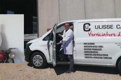 """""""Ulisse Caprini - Verniciature d'Arte""""  apre la sua nuova sede al Vallone"""