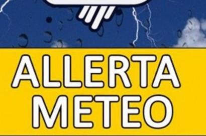 Maltempo, codice giallo per piogge e temporali dalle 12 di domani, sabato 27 luglio
