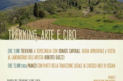 MAEC - Trekking esperienziale ad Ossaia di Cortona con pranzo finale con prodotti tipici