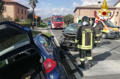 Frontale a Foiano delle Chiana. 7 feriti tra cui due bambini piccoli