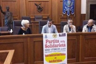 """""""Partita della Solidarietà"""": in campo amministratori e medici della Valdichiana"""