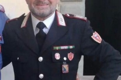 Il Brigadiere Capo Qualifica Speciale Giampaolo Albi della Compagnia Carabinieri di Cortona è andato in pensione
