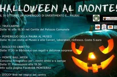 Halloween a Monte San Savino. pomeriggio di divertimenti e...paura!