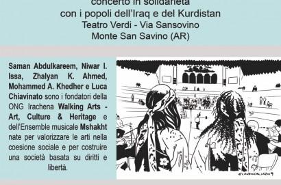 Concerto di solidarietà con il popolo curdo ed iracheno