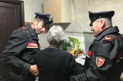 Signora anziana rimane bloccata in casa e salvata dai Carabinieri di Cortona