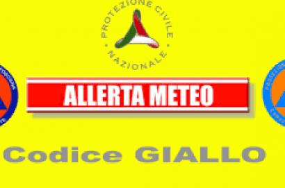 Maltempo, dalle 12 di mercoledì 27 novembre codice giallo per pioggia e temporali in Toscana
