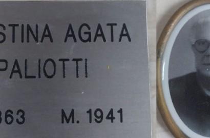 La maestra Faustina Agata Paliotti riposa ancora nel cimitero di Terontola