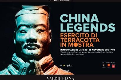 """""""China Legends"""", l'Esercito di terracotta invade il Valdichiana Outlet Village"""