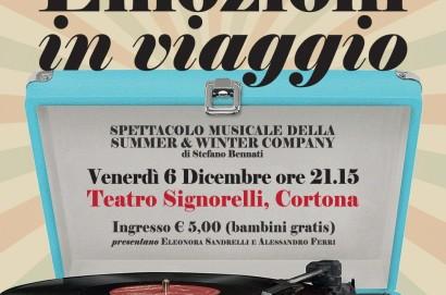 """Al Teatro Signorelli, il sei dicembre : """"Emozioni in Viaggio"""""""