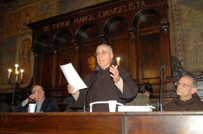 La 'lectio magistralis' di padre Fortunato Iozzelli