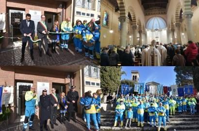 La bella festa della Camucia cristiana , della solidarietà, del volontariato e del progresso sanitario