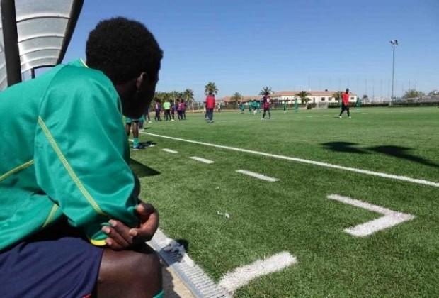 Partita di calcio per l'integrazione tra polisportiva GS Pergo e selezione di giovani richiedenti asilo