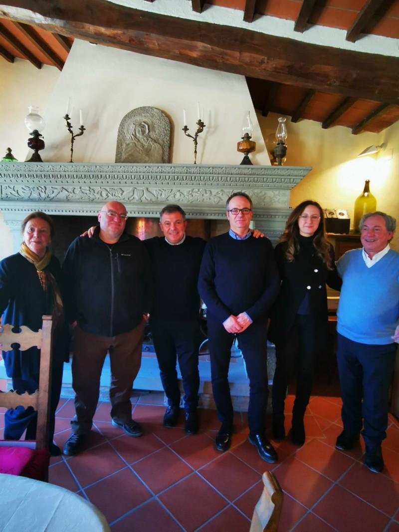 Sindaco in visita al Cam del Ferretto: «Una struttura storica del nostro territorio»