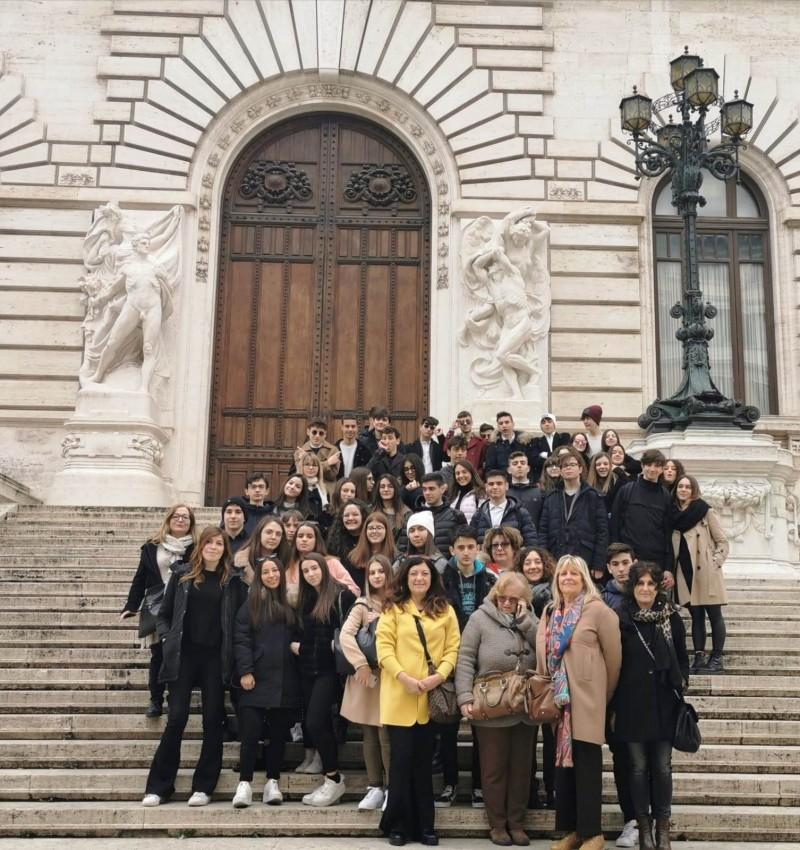 Studenti cortonesi in visita al Parlamento