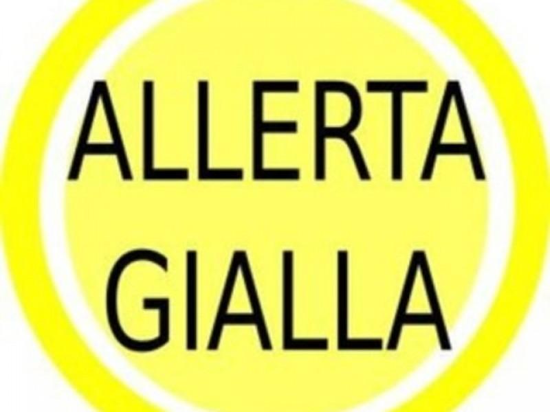 Codice giallo fino a tutto domani, giovedì 26 marzo per neve e vento forte