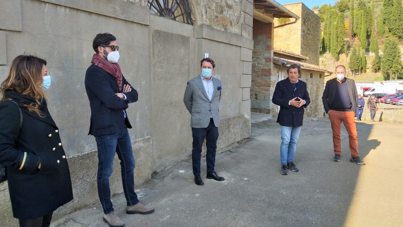 Ex Macelli a Castiglion Fiorentino: la nuova sede del comando di Polizia Municipale e della Bilioteca