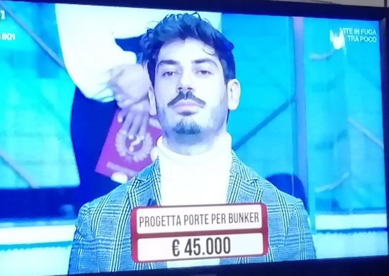 "Lorenzo Meoni ai ""Soliti Ignoti"""