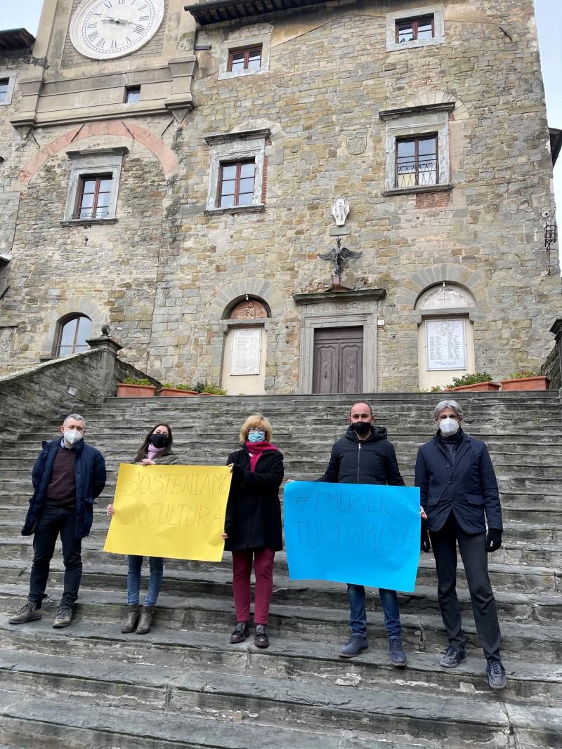 #Emergenza turismo – Sosteniamo la cultura: Cortona sostiene le ragioni dei professionisti,