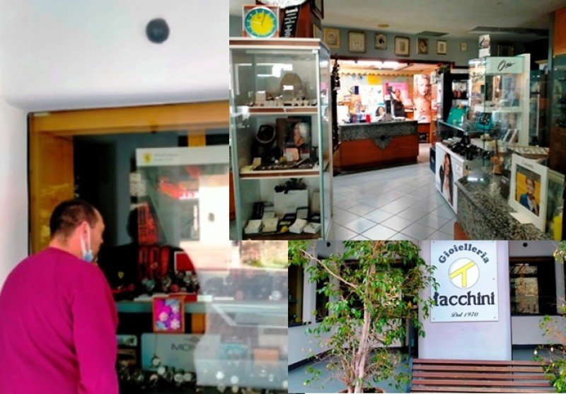 Giancarlo Tacchini: cinquantanni di gioielli ed orologi in Camucia