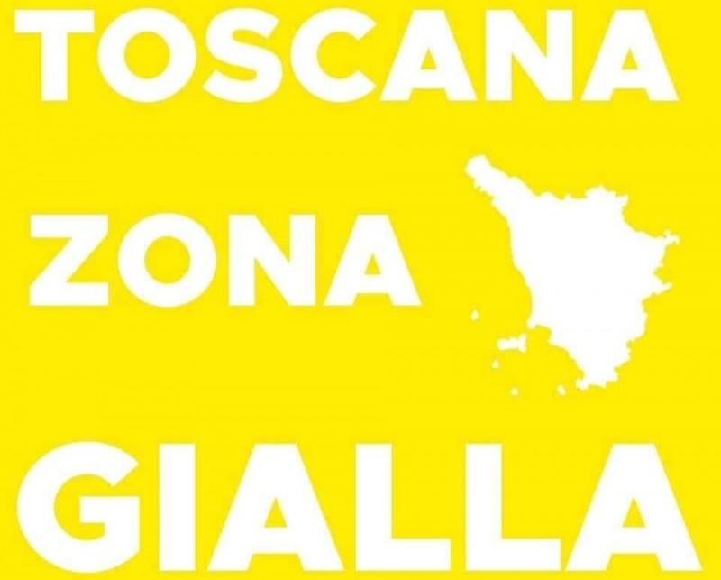 """Giani: """"Tutta la Toscana in zona gialla anche la prossima settimana"""""""